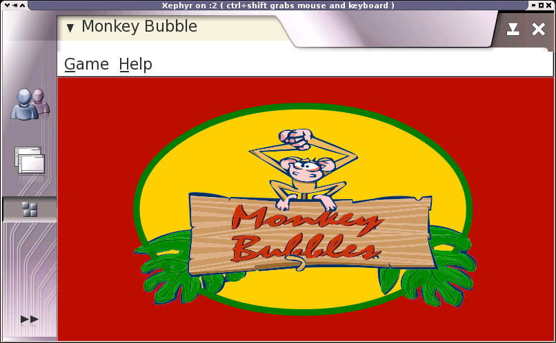 Monkey Bubble on maemo
